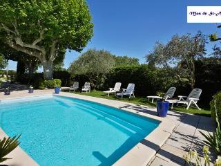 Gite dans vieux mas avec piscine en Provence- Oliviers
