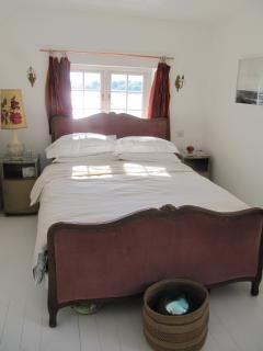 Bedroom 2.  Kingsize French bed