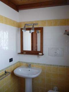 bagno dell'appartamento 'mandarino'