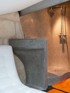 Détail douche chambre 3