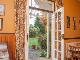 Doors onto garden
