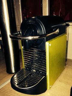 Nespresso coffee machine at your disposal