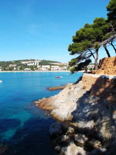 The closest beach, S'Agaro, less than 30 minutes away. Part of the Costa Brava coastal path