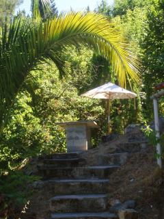 stairs to a terrace