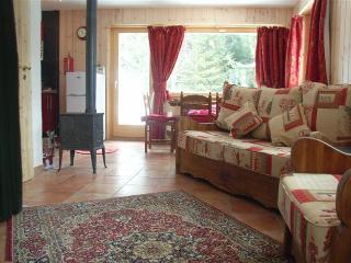 Cuckoo Comfort - underfloor heating, log stove and sofa bed