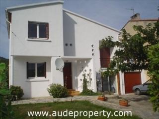 Casa de 90 m2 de 3 habitaciones en Quillan