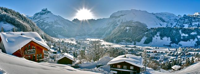 Engelberg ALPHAVEN in Winter with stunning panoramic views