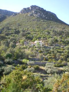 Finca Coboreas in its remote mountain setting