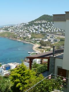 A View of the Bay & the Beach Near to the Apartment
