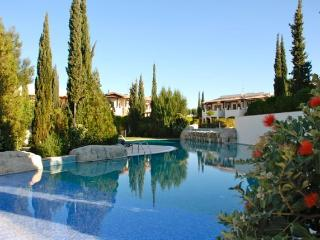 Apartment Assia is situated on Helios Heights village, which is set in very pretty gardens