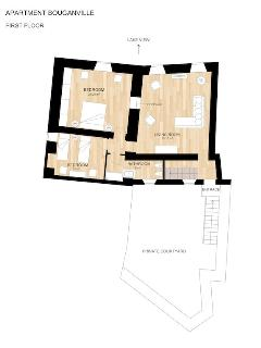I°st Floor's Plan
