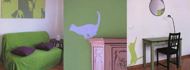 Anna's room. details.