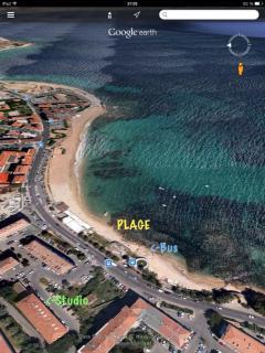Un emplacement idéal vu par satellite