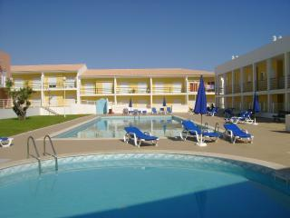 Pools area