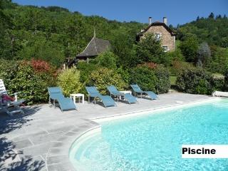 The shared pool at La Domaine du Puech - La Grange Fleurie