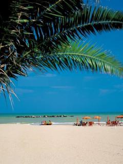 Porto San Giorgio - blue flag sandy beaches & seafood restaurants just 40' away