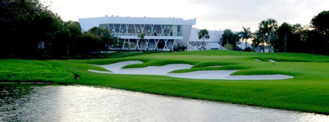 Golf club house restaurant