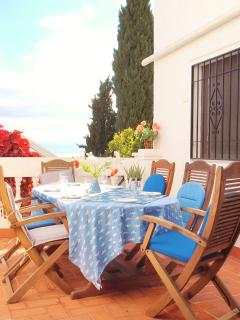 Spend relaxing evenings dining 'al fresco' on your own private terrace