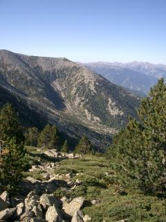 View from top of Mount Canigou