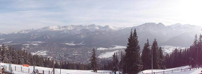 View from the hill/ ski runs nearest to the apartment
