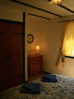 Bedrooms have walk-in wardrobes