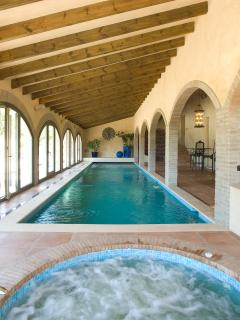 Enjoy a refreshing swim, a relaxing jacuzzi or a soothing sauna