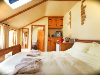 View from bedroom looking to ensuite bathroom - Tack Room