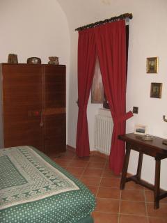 Camera da letto matrimoniale con bagno in camera ad uso esclusivo