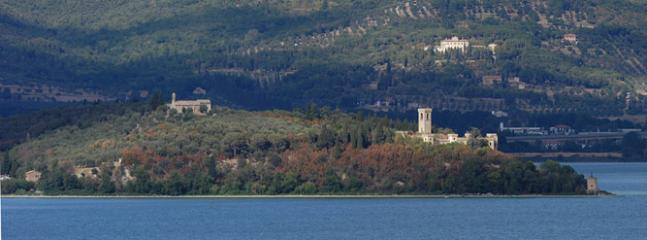Isola Maggiore on Lake Trasimeno