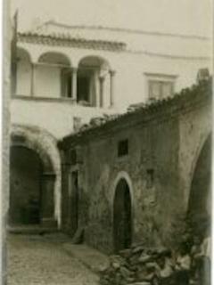 Foto d'epoca della casa