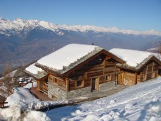 Luxury interior designed chalet +sensational views, Nendaz