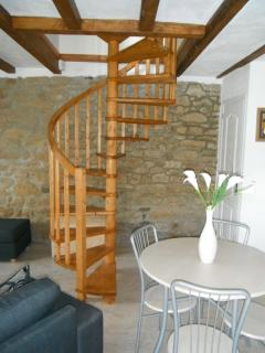 The Staircase to the bedroom