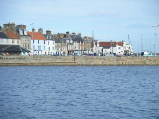 The charming harbour and seafront of Anstruther