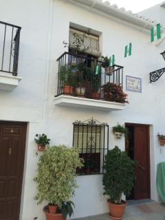 Balcony in the centre of Frigiliana