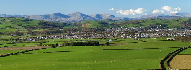 View of Coniston Old Man from Birkrigg