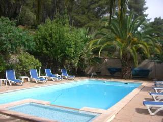 Provence cote azur sea private villa & pool 18p, Carqueiranne