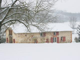 La Maison de Campagne is perfect for a winter getaway with its new woodburner to keep you warm!