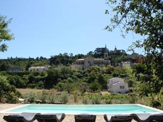 View of Bonnieux - from the pool