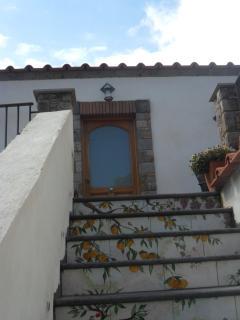 scala di accesso alla casa