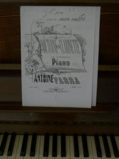 Play music composed by count Antonio Parra in 1863.