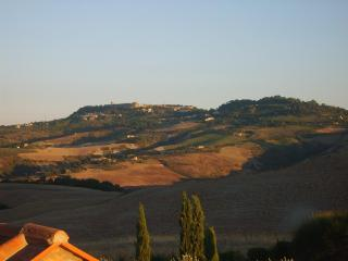 View of Volterra from the bedroom