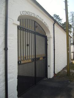 GATES TO MEWS COURT YARD