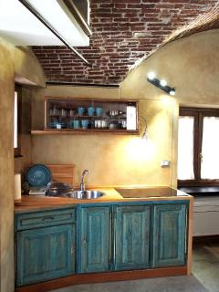 lovingenoa GUEST HOUSE - cucina attrezzata - Genova da scoprire