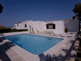 Villa with stunning view and private pool, Port d'Addaia