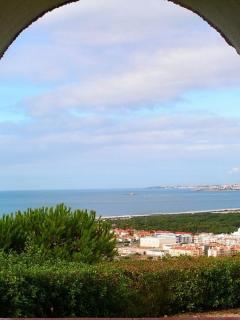 Capuchos Monastery view
