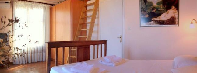 The double bedroom upstairs
