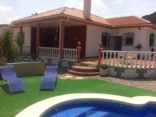 fabulous villa with pool near arboleas with views, Arboleas