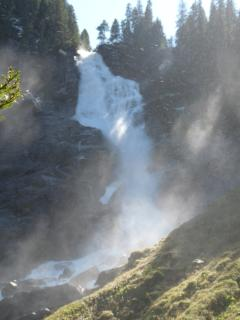 Visit Krimml Waterfalls, the tallest in Europe with excellent health giving properties