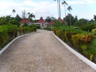 walkway to villa