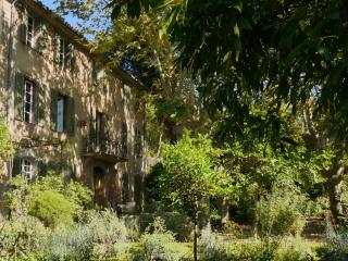 Front of 'Bastide' - Apartment is on top floor separated from the main house